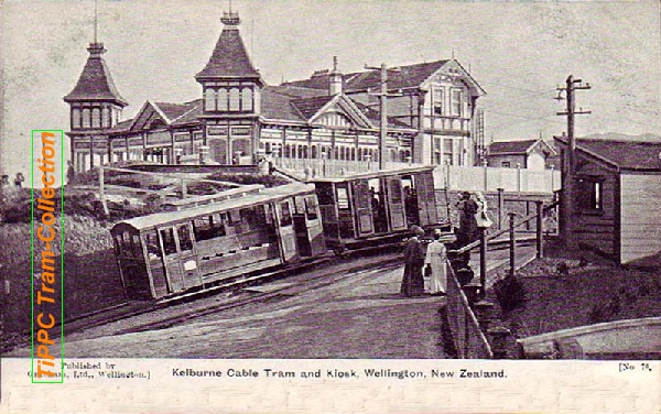 Wellington-Kelbourne Cable Tram 1903